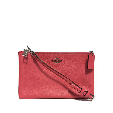 Coach Lyla Crossbody in Pebble Leather Strawberry F38273