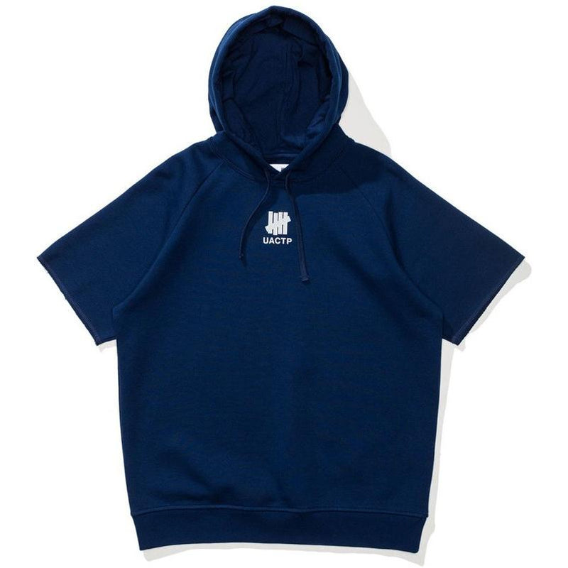 Undefeated Tech fleece S/SL Hoodie Navy 518311