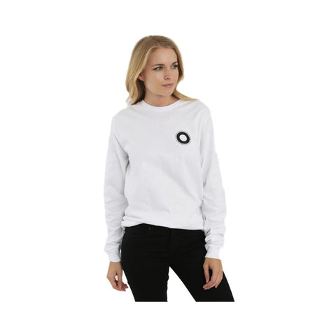Stussy Womens Ringer Long Sleeve Tee White 2992548