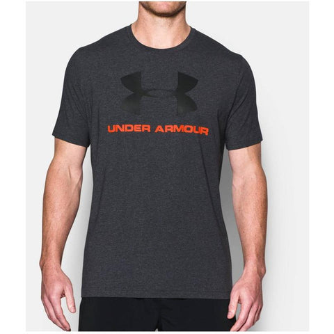 Under Armour UA Sportstyle Logo  Black/Phoenix Fire 1257615-015