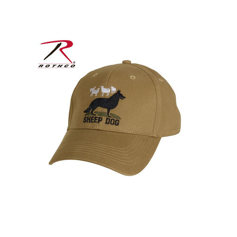 Rothco  Sheep Dog Deluxe Low Profile Cap Coyote Brown 9819