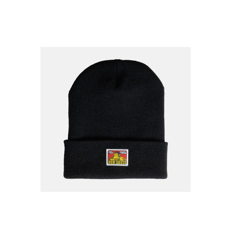 Ben Davis Beanie with Logo Black