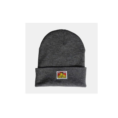 Ben Davis Beanie with Logo Charcoal Heather 9251