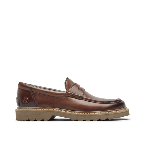 Rockport Men's Peirson Penny Keeper Cognac Leather Tan CH6034