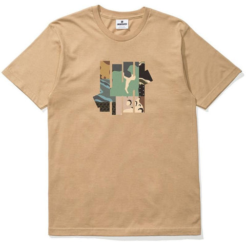 Undefeated Patchwork Strike Tann T-Shirt 5900872