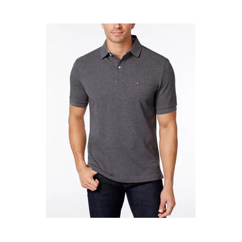 Tommy Hilfiger Ivy Polo Shirt Medium Grey Heather 863521684 043