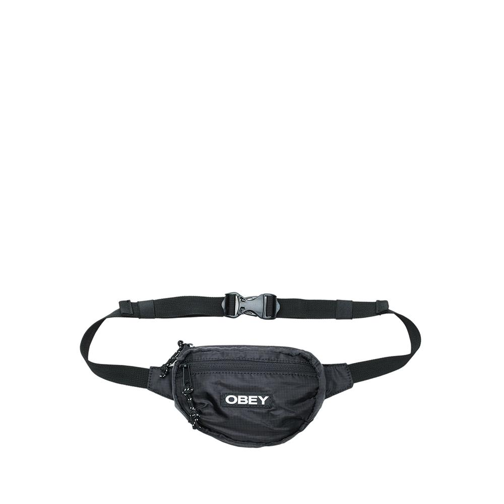 Obey Commuter Waist Pouch Black  100010127