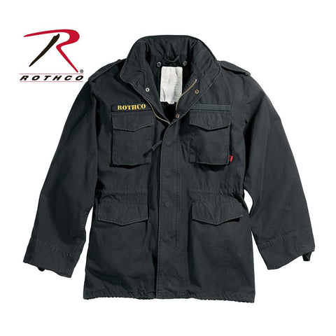 Rothco Vintage M-65 Field Jacket Black 8608