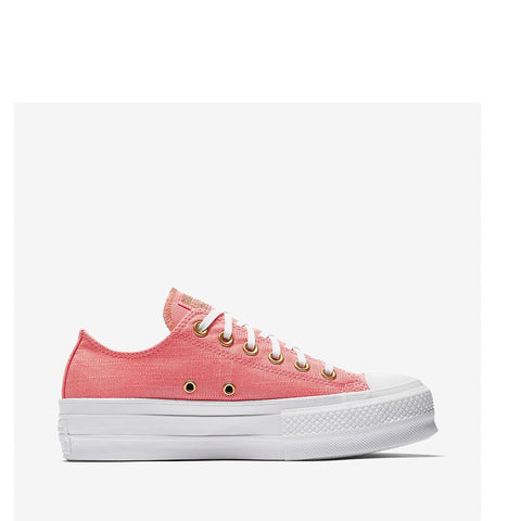 Converse  Women's Ctas Lift Ox Pink/DriftWood/White/Lilac 560675C