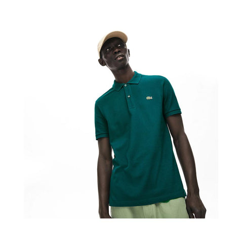 Lacoste Men's Petit Piqué Slim Fit Polo Shirt Pine  PH4012-51 2S9