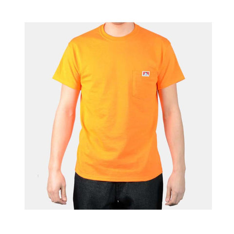 Ben Davis Classic Label Pocket T-Shirt Orange 9026