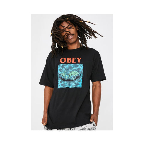 Obey Worldpool Basic Tee Black 163082232