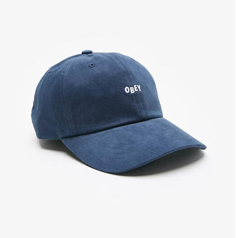 Obey Jumble Bar III 6 Panel Navy 100580071