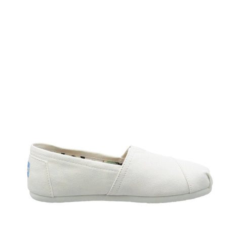 Toms Womens Classic Slip-On White White 10005987