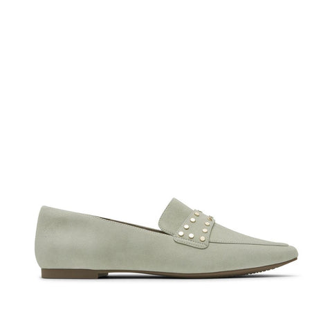 Rockport Women's Total Motion Laylani Studded Loafer Desert Sage CH9165