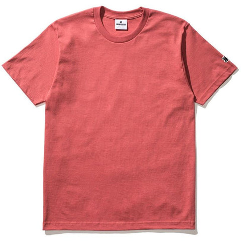 Undefeated Felt Patch Strike Tee Rose 5900874