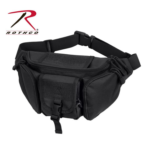 Rothco Tactical Concealed Carry Waist Pack Black 4957