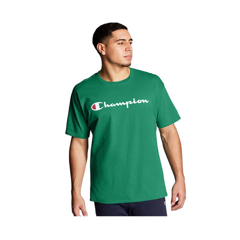 Champion Classic Graphic Jersey Tee Kelly Green GT23H-Y07718