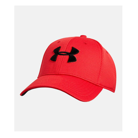 Under Armour Men's UA Blitzing II Stretch Fit Cap Red-Red-Black 1254123-600