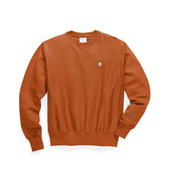 Champion Life Reverse Weave Crew T-shirt Burnt Orange GF70