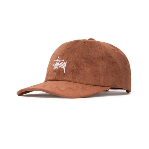 Stussy Microfiber Low Pro Cap Brown  232179