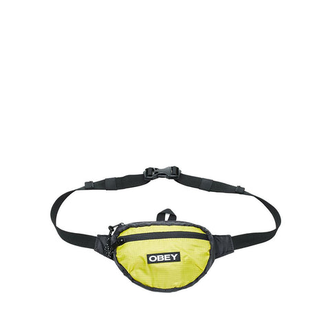 Obey Commuter Waist Pouch Black Multi 100010127