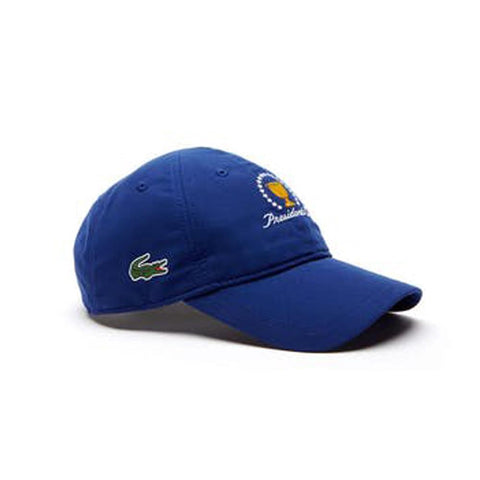 6131008591f Lacoste Unisex Sport Presidents Cup Edition Microfiber Cap Ocean  RK1885-51-S2P