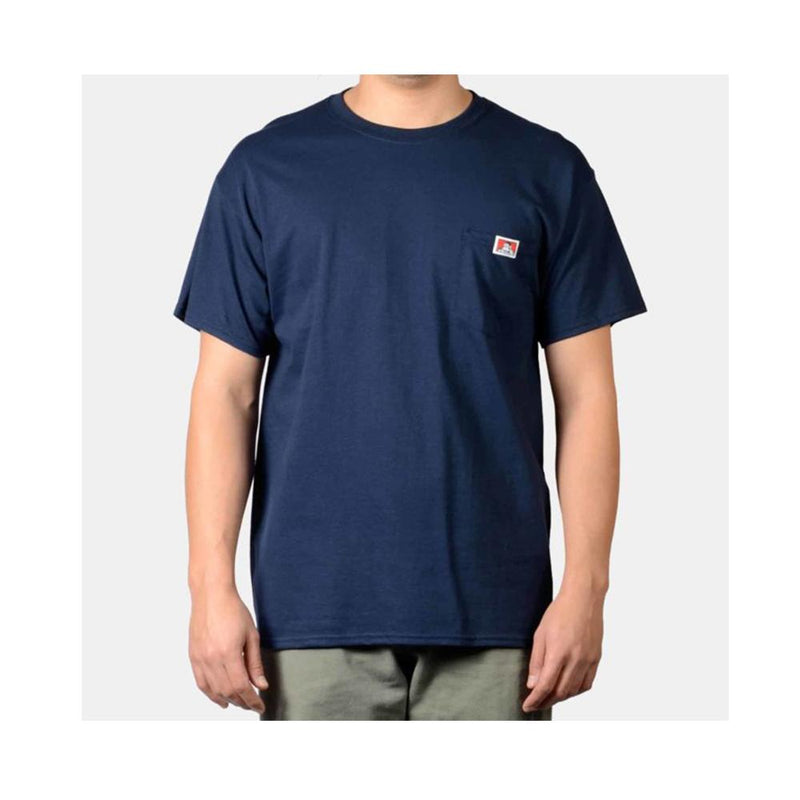 Ben Davis Classic Label Pocket T-Shirt Navy 9028