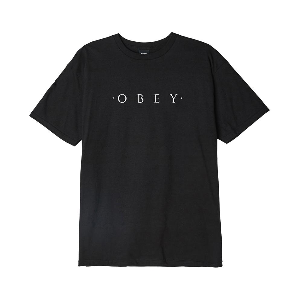 Obey Novel Basic Tee 163081578 Black 163081578