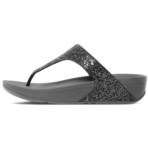 Fitflop Womens Glitterball Toe-thong Sandals Black H25-001