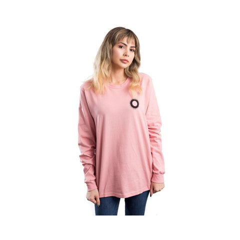 Stussy Ringer Long Sleeve Tee Dust Rose 2992548