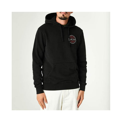 Deus Biapritz Address Hoodie Black DMP208420A