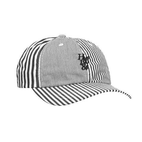 Huf Disorder Curved Visor 6-Panel Hat White HT00442