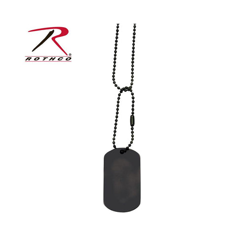 Rothco dog Tag Chain Black 8394