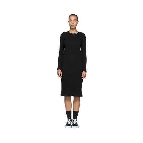 Stussy Temple L/SL Rib Dress Black 214471