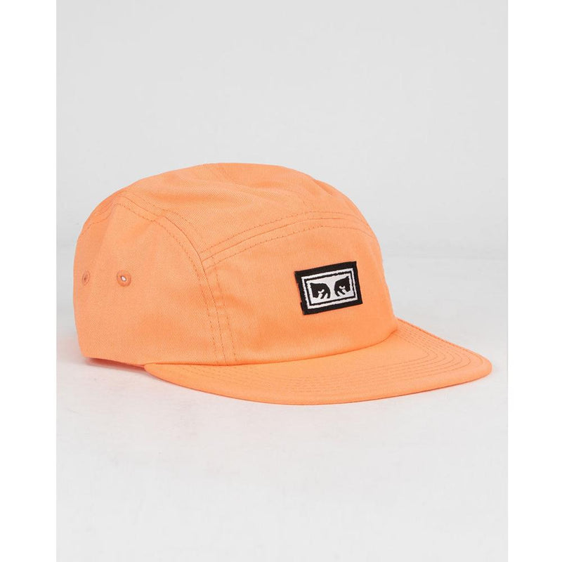 OBEY Eyes 5 Panel Hat Coral 100490059