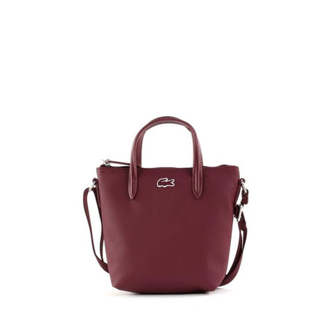 Lacoste XS Shopping Cross Bag Tawny Port NF2609PO C52