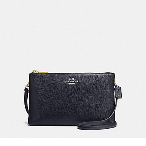 Coach Lyla Crossbody in Pebble Leather Mid Night  F38273