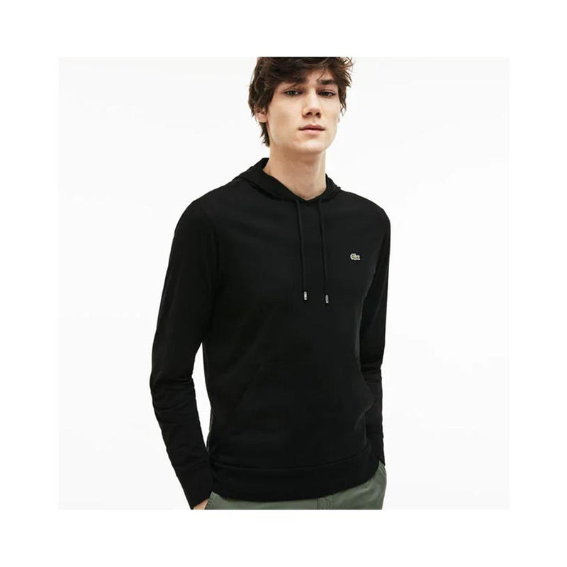 Lacoste Men's Hooded Cotton Jersey Sweatshirt Black TH9349-51 031