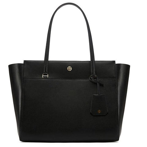 Tory Burch Parker Tote Black/Cardamon 37169-019