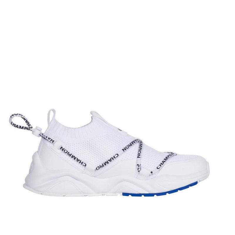Champion Rally Flux Lo White Knit Upper CPS10149W