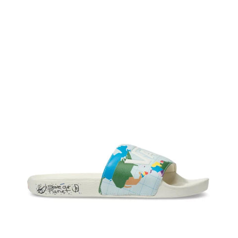 Vans Save Our Planet X Vans-Slide on Marshmallow  VN0004KISY8