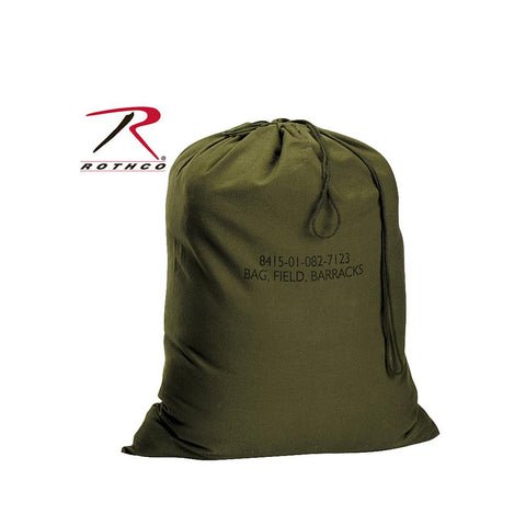 "Rothco G.I. Type Canvas Barracks Bag -  24"" X 32"" - Olive Drab 2571"