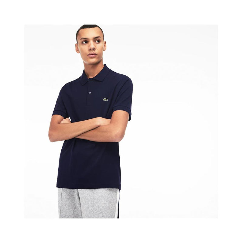 Lacoste Men's Regular Fit Lightweight Cotton Polo Navy Blue DH2050-51 166