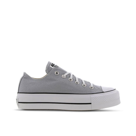 Converse Chuck Taylor All Star Lift Ox Wolf Grey/White/Black 566757C