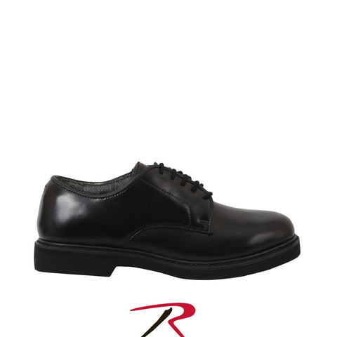 Rothco Military Uniform Oxford Leather Shoes Black 5085