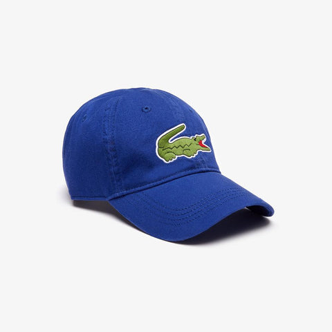 Lacoste Men's Big Croc Gabardine Cap Captain RK8217-51 X0U