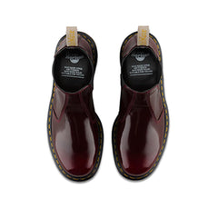 Dr.Martens Vegan 2976 Cherry Red Cambridge Brush R21802600