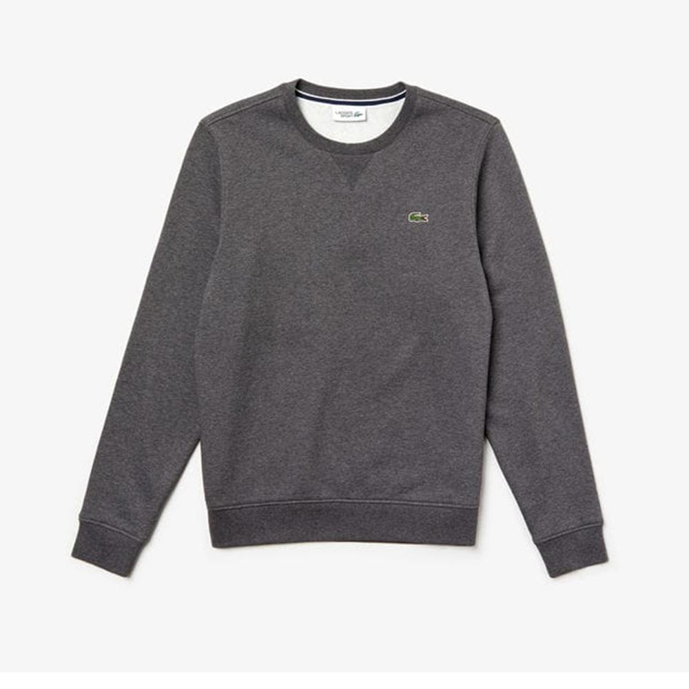 Lacoste Fleece C.Neck Sweatshirt Pitch SH7613-51 050