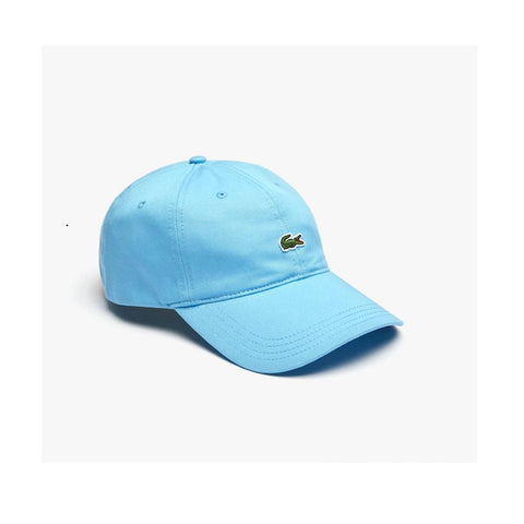 Lacoste Contrast Strap Cotton Twill Cap Barbeau Blue RK4714 709